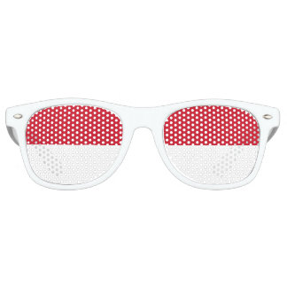 Monaco Flag Retro Sunglasses