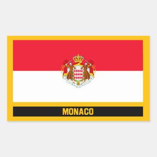 Monaco Flag Sticker