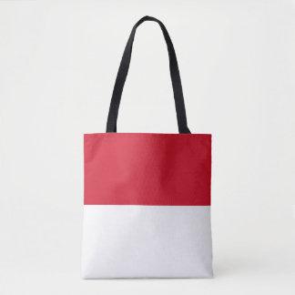 Monaco Flag Tote Bag