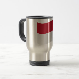 Monaco Flag Travel Mug