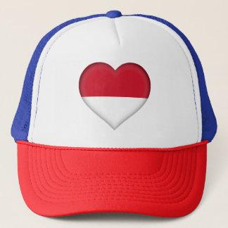 Monaco Flag Trucker Hat