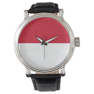 Monaco Flag Wristwatches
