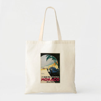 Monaco Grand Prix Automobile Tote Bag