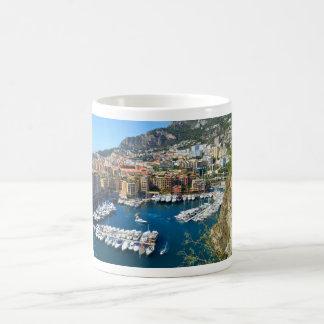 Monaco harbour coffee mug