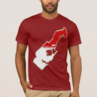 Monaco Map Designer Shirt Apparel Sale Him or Hers