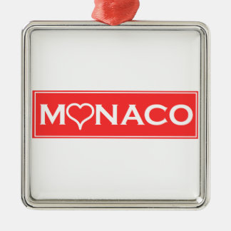 Monaco Metal Ornament