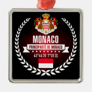 Monaco Metal Ornament