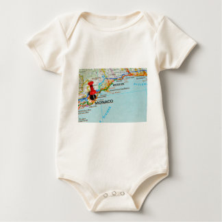 Monaco, Monte Carlo Baby Bodysuit