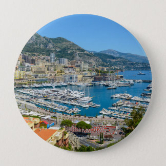 Monaco Monte Carlo Photograph 4 Inch Round Button
