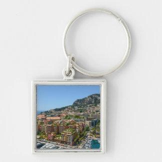 Monaco Monte Carlo Photograph Keychain