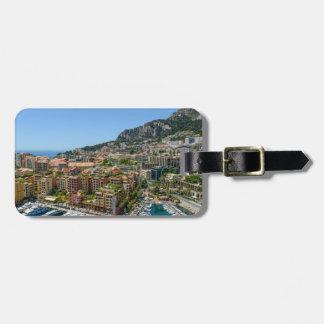 Monaco Monte Carlo Photograph Luggage Tag