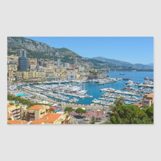Monaco Monte Carlo Photograph Sticker