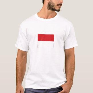 Monaco National Flag T-Shirt