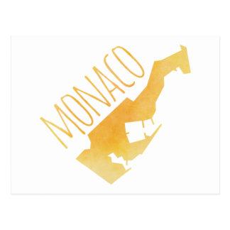 Monaco Postcard