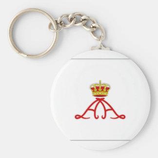 Monaco Princely Standard Keychain