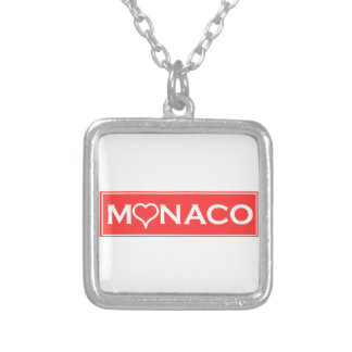 Monaco Silver Plated Necklace