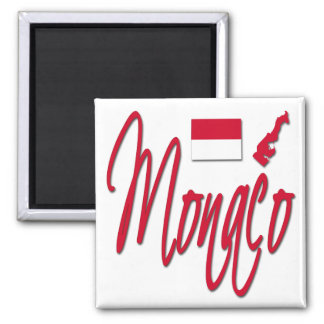 Monaco Square Magnet