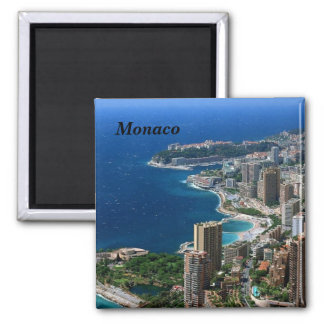 Monaco - square magnet