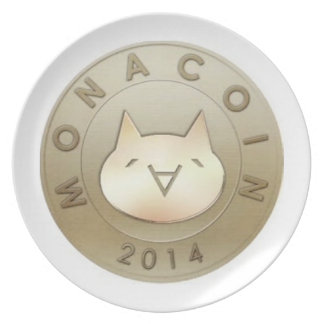 MonaCoin Plate