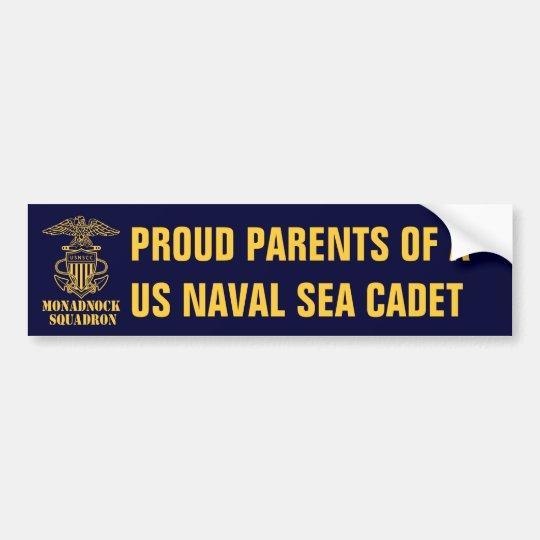 Monadnock Squadron Proud Parents Bumper Sticker