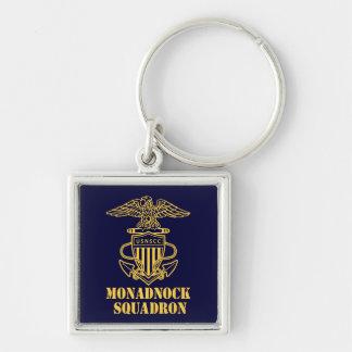 Monadnock Squadron Square Keychain