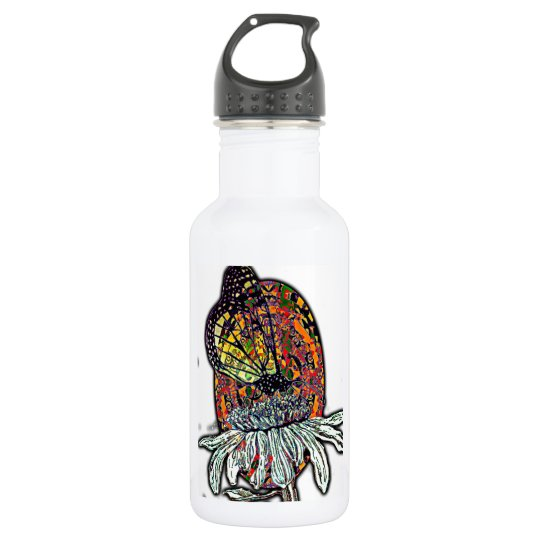 Monarch and Patterns 532 Ml Water Bottle