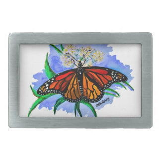Monarch butterflies belt buckles