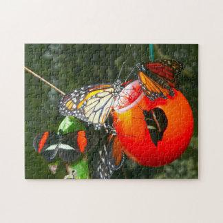 Monarch Butterflies Canada. Jigsaw Puzzle