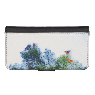 Monarch Butterflies IPhone Wallet Case