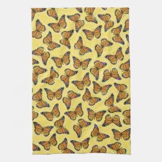 MONARCH BUTTERFLIES Kitchen Towel