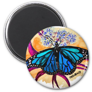 Monarch Butterflies Magnet