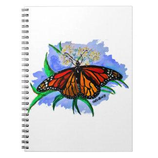 Monarch butterflies notebook