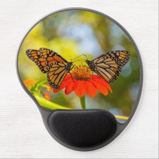 Monarch Butterflies on Wildflowers Gel Mouse Pad