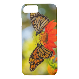 Monarch Butterflies on Wildflowers iPhone 8/7 Case
