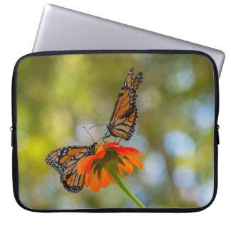 Monarch Butterflies on Wildflowers Laptop Sleeve