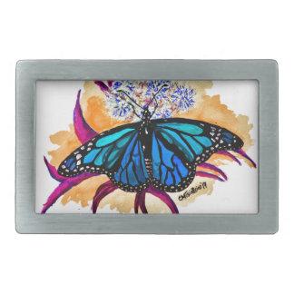 Monarch Butterflies Rectangular Belt Buckles