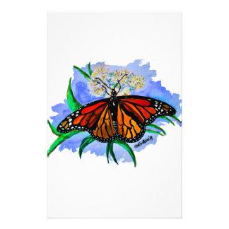 Monarch butterflies stationery