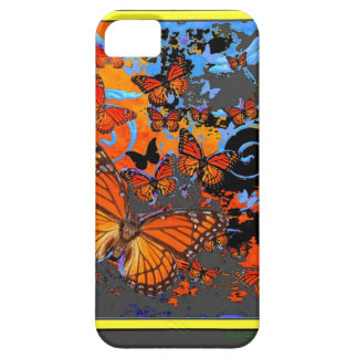 Monarch Butterflies Stormy Weather Art Case For The iPhone 5
