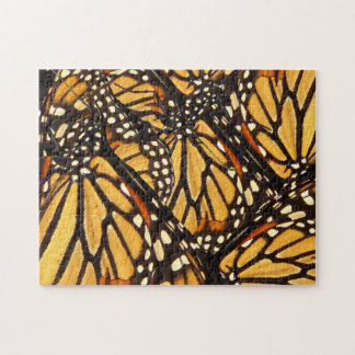 Monarch Butterfly Abstract Pattern Puzzle