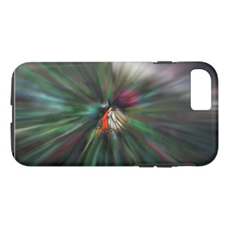Monarch Butterfly Abstract Phone Case