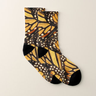 Monarch Butterfly Abstract Socks 1