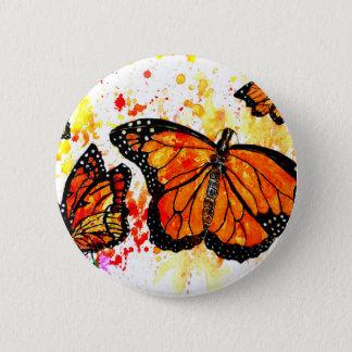 Monarch Butterfly Art02 2 Inch Round Button