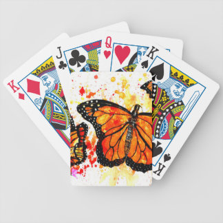 Monarch Butterfly Art02 Bicycle Playing Cards