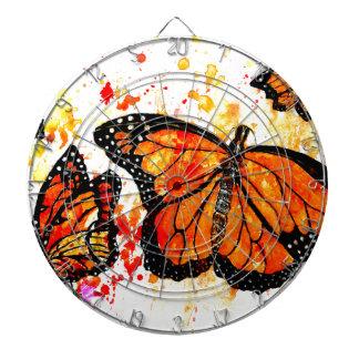 Monarch Butterfly Art02 Dartboard