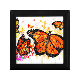 Monarch Butterfly Art02 Gift Box