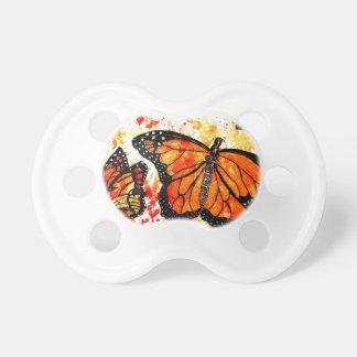 Monarch Butterfly Art02 Pacifier