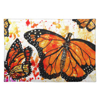 Monarch Butterfly Art02 Placemat