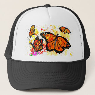 Monarch Butterfly Art02 Trucker Hat
