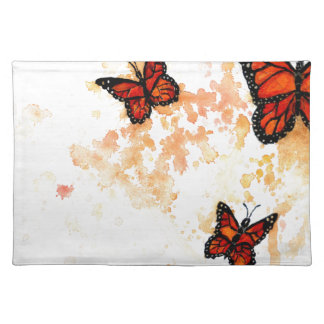 Monarch Butterfly Art Placemat