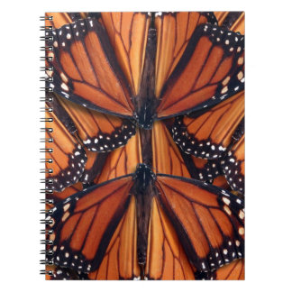 monarch butterfly art spiral notebook